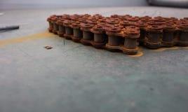 αλυσίδες σκουριασμένες Στοκ φωτογραφίες με δικαίωμα ελεύθερης χρήσης