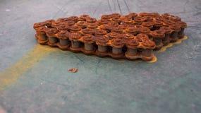 αλυσίδες σκουριασμένες Στοκ Φωτογραφία