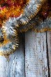 Αλυσίδες Χριστουγέννων Τοπ όψη Copypace Στοκ φωτογραφίες με δικαίωμα ελεύθερης χρήσης