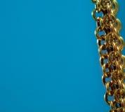 αλυσοδέστε το χρυσό Στοκ εικόνες με δικαίωμα ελεύθερης χρήσης