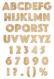 Αλφάβητο εγγράφου Στοκ φωτογραφίες με δικαίωμα ελεύθερης χρήσης