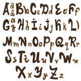 Αλφάβητο - διανυσματική απεικόνιση Στοκ Εικόνες