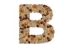 Αλφάβητο καρυδιών στοκ φωτογραφία με δικαίωμα ελεύθερης χρήσης