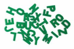 Αλφάβητο μαγνητών Στοκ Φωτογραφία