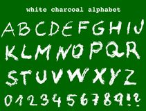 Αλφάβητο σχολικών πινάκων Στοκ Εικόνες