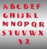 Αλφάβητο φραουλών Απεικόνιση αποθεμάτων