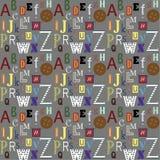 αλφάβητο Στοκ εικόνες με δικαίωμα ελεύθερης χρήσης
