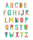 αλφάβητο Στοκ Εικόνες