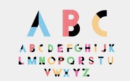 Αλφαβητικές πηγές Στοκ φωτογραφίες με δικαίωμα ελεύθερης χρήσης
