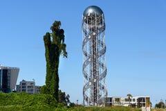Αλφαβητικός πύργος σε Batumi, Γεωργία στοκ εικόνα με δικαίωμα ελεύθερης χρήσης