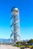 Αλφαβητικός πύργος σε Batumi, Γεωργία στοκ εικόνες με δικαίωμα ελεύθερης χρήσης