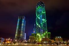 Αλφαβητικός πύργος σε Batumi στοκ φωτογραφίες με δικαίωμα ελεύθερης χρήσης