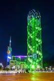 Αλφαβητικός πύργος, Batumi στοκ φωτογραφίες