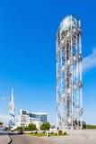 Αλφαβητικός πύργος, Batumi στοκ φωτογραφίες με δικαίωμα ελεύθερης χρήσης