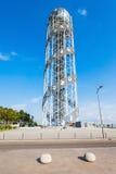 Αλφαβητικός πύργος, Batumi στοκ εικόνα με δικαίωμα ελεύθερης χρήσης