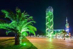 Αλφαβητικός πύργος, Batumi στοκ φωτογραφία με δικαίωμα ελεύθερης χρήσης