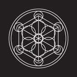 Αλχημικός κύκλος Στοκ Εικόνα