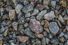 Αδύνατο συντριμμένο αμμοχάλικο πετρών Ð ¡ Στοκ Φωτογραφία