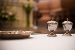 Βάζα βαπτίσματος myrrh Στοκ Εικόνες