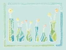 Βάζα και λουλούδια Στοκ φωτογραφία με δικαίωμα ελεύθερης χρήσης