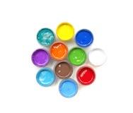 Βάζα με τα χρώματα Στοκ φωτογραφίες με δικαίωμα ελεύθερης χρήσης