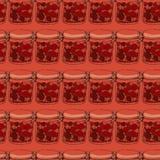 Βάζα της μαρμελάδας Στοκ Εικόνες