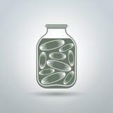 Βάζο αγγουριών Στοκ εικόνα με δικαίωμα ελεύθερης χρήσης