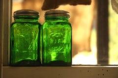 βάζο γυαλιού Στοκ Εικόνες
