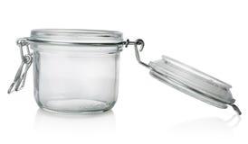 Βάζο γυαλιού με το καπάκι στοκ φωτογραφία με δικαίωμα ελεύθερης χρήσης
