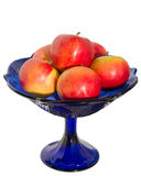 Βάζο με τα μήλα στοκ εικόνες