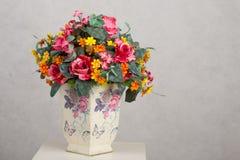 βάζο λουλουδιών Στοκ Εικόνες