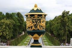 Βάζο σε Peterhof, Ρωσία Στοκ φωτογραφίες με δικαίωμα ελεύθερης χρήσης