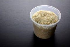 Βάζο Crumbs ψωμιού Στοκ Εικόνες