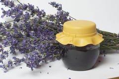 Βάζο lavender του σιροπιού Στοκ Φωτογραφίες