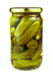 βάζο pickels Στοκ εικόνα με δικαίωμα ελεύθερης χρήσης