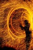 βάλτε φωτιά εμφανίζει στοκ φωτογραφίες με δικαίωμα ελεύθερης χρήσης