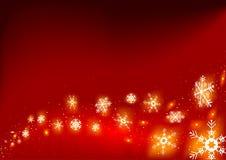 βάλτε φωτιά snowflakes Στοκ Εικόνες