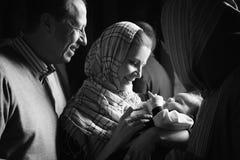 βάπτισμα Στοκ Φωτογραφίες