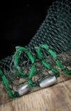 Βάρη διχτυού του ψαρέματος Στοκ Εικόνα