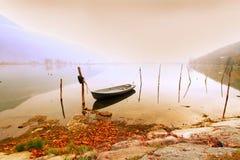 βάρκα αγκυλών Στοκ εικόνα με δικαίωμα ελεύθερης χρήσης