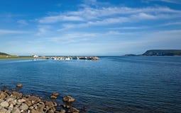 Βάρκα αστακών Στοκ Εικόνα
