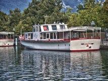 βάρκα Γαλλία του Annecy Στοκ εικόνες με δικαίωμα ελεύθερης χρήσης