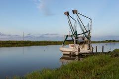 Βάρκα γαρίδων της Λουιζιάνας στοκ φωτογραφία με δικαίωμα ελεύθερης χρήσης