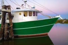 Βάρκα γαρίδων της Λουιζιάνας στοκ φωτογραφίες