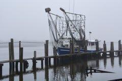 Βάρκα γαρίδων στοκ φωτογραφίες με δικαίωμα ελεύθερης χρήσης
