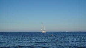 βάρκα θάλασσας Στοκ εικόνα με δικαίωμα ελεύθερης χρήσης