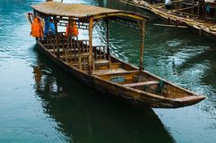 βάρκα Κίνα Στοκ Εικόνες
