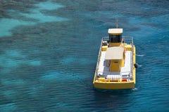 βάρκα κίτρινη Στοκ φωτογραφία με δικαίωμα ελεύθερης χρήσης
