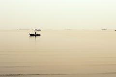 Βάρκα και θάλασσα Στοκ φωτογραφία με δικαίωμα ελεύθερης χρήσης