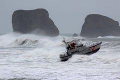 Βάρκα και κύματα 03 Στοκ φωτογραφίες με δικαίωμα ελεύθερης χρήσης